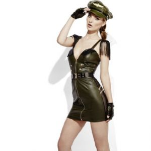 Fever Miss Behave Military Costume